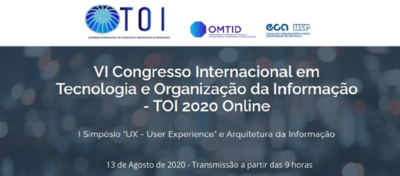cartaz virtual I Simpósio User Experience